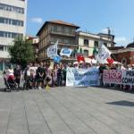 Immigrazione, presidio Lega, alta tensione a Cantù. Molteni: sinistra da partito degli operai a partito di clandestini e zingari