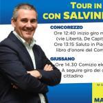 Grimoldi: Martedì 07 Maggio sarò a Concorezzo e Giussano con Matteo Salvini per un tour elettorale in Brianza. Tra la gente 26 Maggio Vota Lega