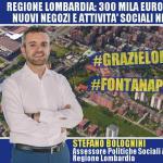 Bolognini: da Regione Lombardia 300000 euro per l'apertura di nuovi negozi e attività sociali nei quartieri ALER! Un altro importante intervento della Regione per aiutare le nostre periferie a rinascere!