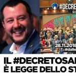 Grimoldi: Stasera la Camera dei Deputati ha votato il decreto Sicurezza