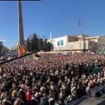 Grimoldi: Grazie a tutte le migliaia di militanti e sostenitori lombardi che oggi sono scesi a Roma, partendo all'alba o viaggiando di notte, e in piazza del Popolo si sono fatti sentire e vedere, eccome!