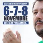 Salvini: «Riempirò la piazza di gente normale»