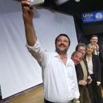 Grimoldi: una marea di gente a Grumello del Monte (Bergamo) con Matteo Salvini, pronti e carichi per questa nuova tornata elettorale che ci vedrà protagonisti in Italia e in Europa