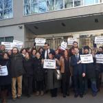 """Educatori professionali, flash mob davanti al Pirellone. Emanuele Monti (Lega): """"Questi lavoratori rappresentano l'eccellenza lombarda"""""""
